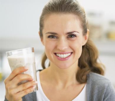 Fuera lácteos para las náuseas