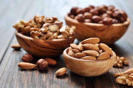 Alimentos con omega 3: nueces en tu embarazo