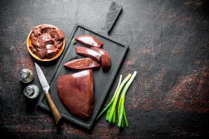 El hígado es el alimento que más ácido fólico proporciona