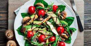 Embarazada: ácido fólico, en verduras de hoja verde