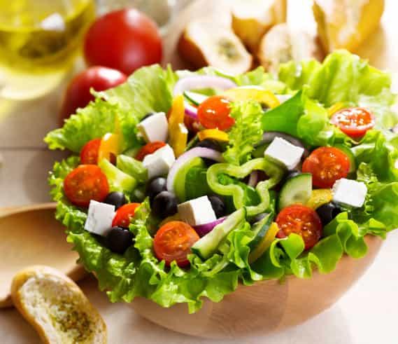 Alimentos con omega 3: ensalada