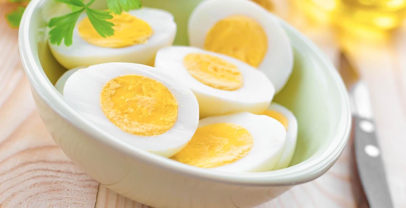 Embarazada: huevo en el menú