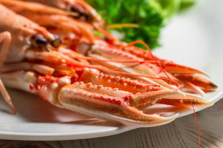 Alimentos con omega 3: mariscos