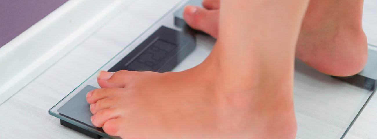 En el peso correcto antes del embarazo