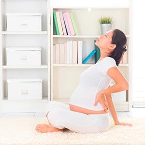 Normal el de mes embarazo de es baja primer dolor el espalda en
