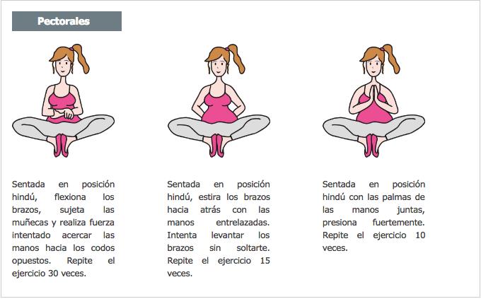 Gimnasia y ejercicios sencillos para embarazadas for Ejercicios de gimnasia