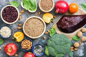 alimentos ricos en hierro para embarazadas con anemia