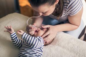 como sacar los mocos a un bebe de 2 años