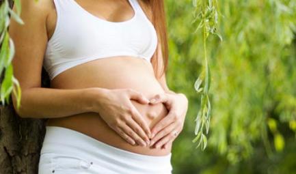 dolor en el lado izquierdo del bajo vientre embarazo